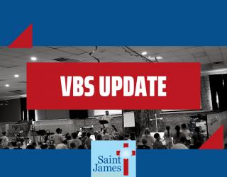 Vacation Bible School Update