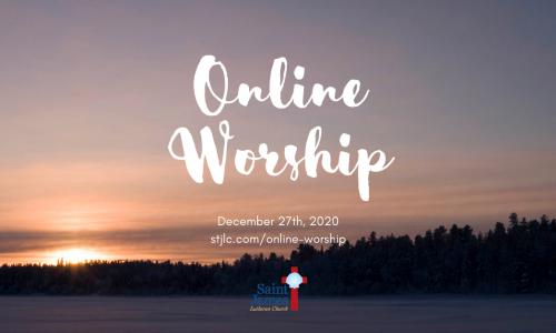 Online Worship – Jan 3rd, 2021