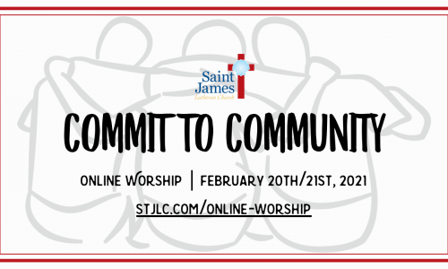 Online Worship – March 6th/7th, 2021